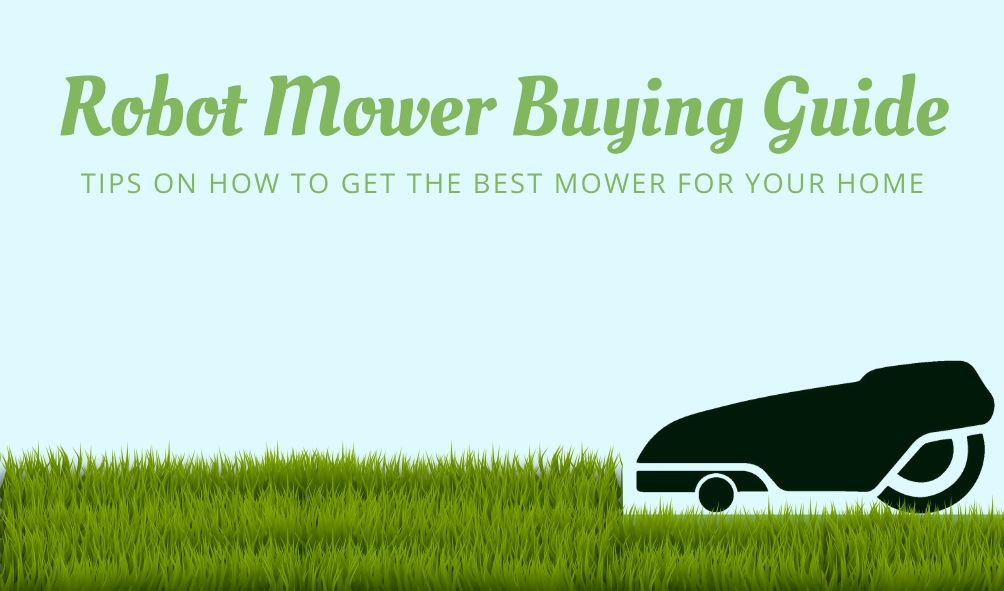 robot mower buying guide
