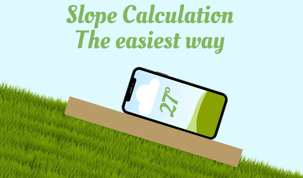 smart phone slope calculation