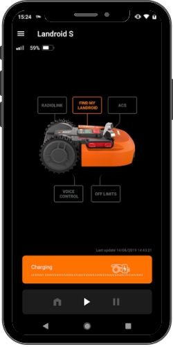 landroid app on a phone