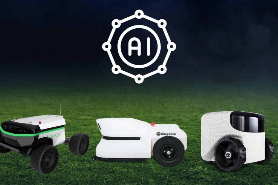 Robotic LawnMower New Generation of AI Powered Robot Lawn Mowers